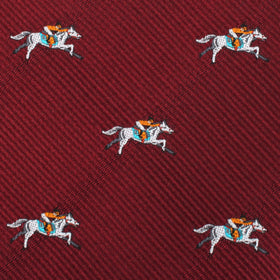 Kentucky Derby Race Horse Kids Bow Tie