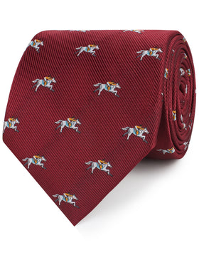 Kentucky Derby Race Horse Necktie