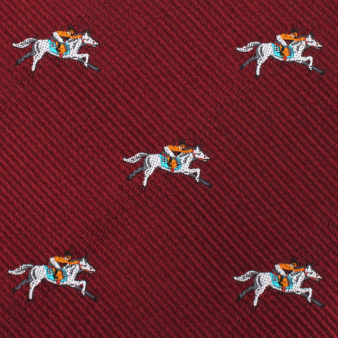 Kentucky Derby Race Horse Pocket Square