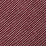 Khaki Red Houndstooth Blend Fabric Mens Bow Tie