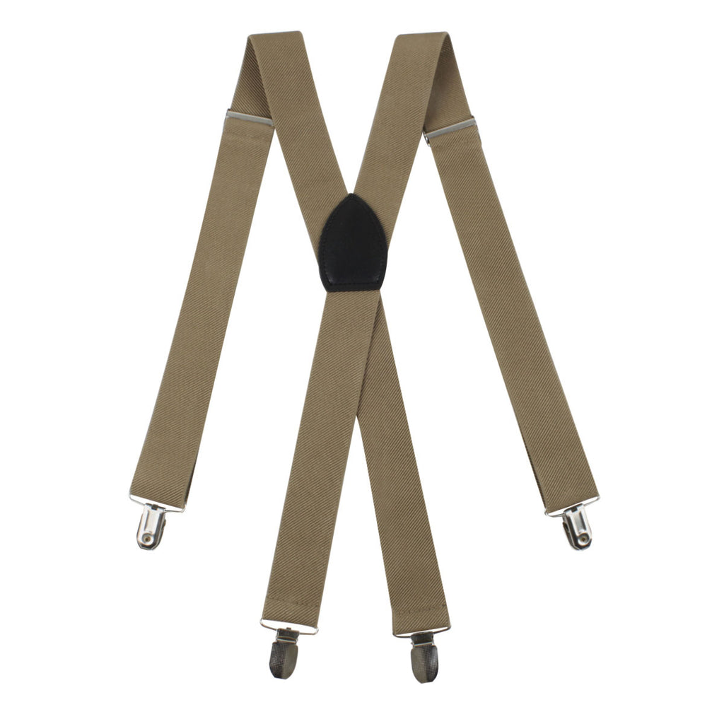 Khaki Suspender Braces