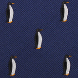 King Penguin Fabric Skinny Tie