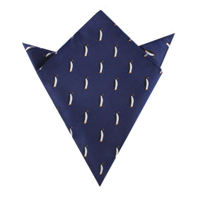 King Penguin Pocket Square