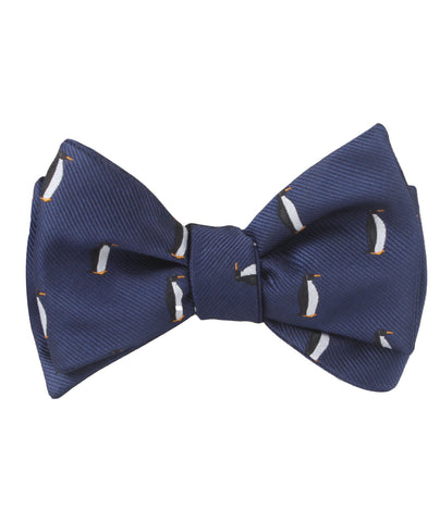 King Penguin Self Bow Tie