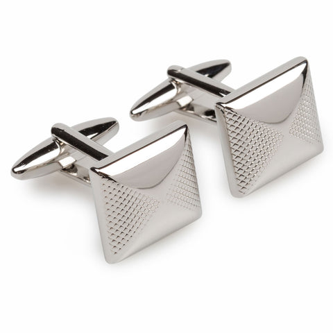 King Tut Silver Cufflinks