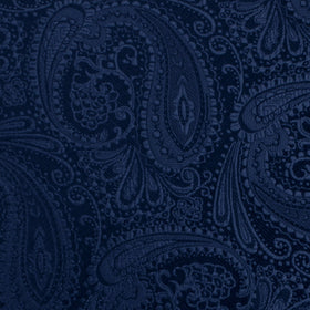 Kings Sapphires Navy Blue Pocket Square