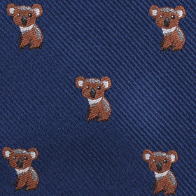 Koala Bear Diamond Bow Tie