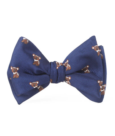 Koala Bear Self Bow Tie