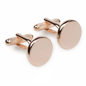 L'Atalante Rose Gold Cufflinks