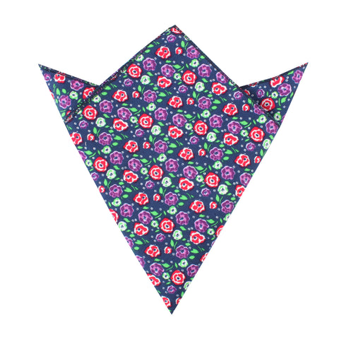 La Favia Rose Pocket Square