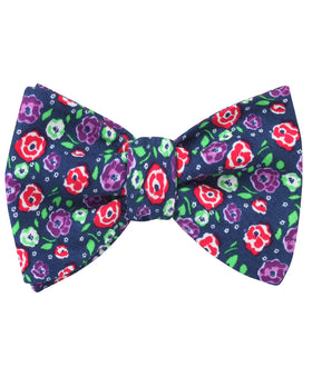 La Favia Rose Self Bow Tie