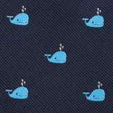 Laboon Blue Whale Bow Tie Fabric