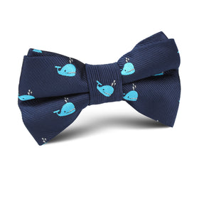 Laboon Blue Whale Kids Bow Tie
