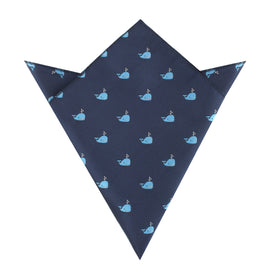 Laboon Blue Whale Pocket Square