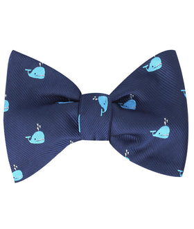 Laboon Blue Whale Self Bow Tie