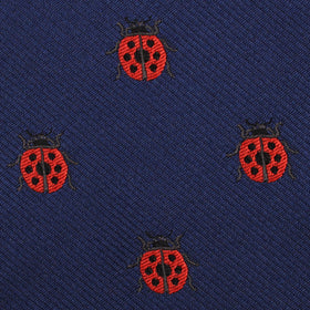 Ladybird Beetle Diamond Bow Tie