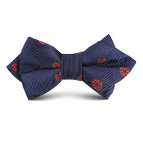 Ladybird Beetle Kids Diamond Bow Tie