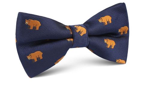 Lazy Bear Bow Tie