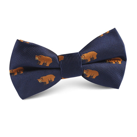 Lazy Bear Kids Bow Tie