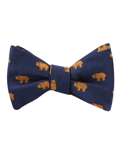 Lazy Bear Self Bow Tie
