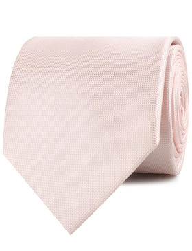 Liege Blush Pink Diamond Necktie