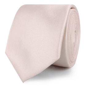 Liege Blush Pink Diamond Skinny Tie