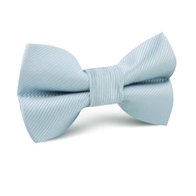 Light Silver Sage Twill Kids Bow Tie