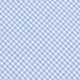 Light Blue Gingham Cotton Fabric Pocket Square C023