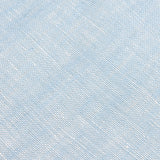 Light Blue Linen Chambray Necktie Fabric