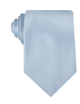 Light Blue Mist Basket Weave Necktie