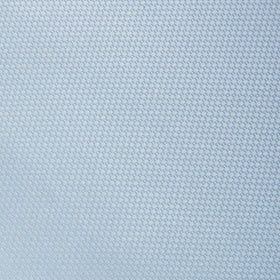 Light Blue Mist Basket Weave Pocket Square