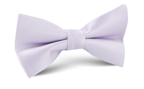 Light Lavender Twill Bow Tie