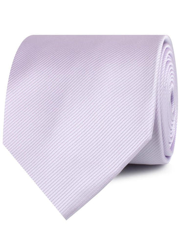 Light Lavender Twill Necktie