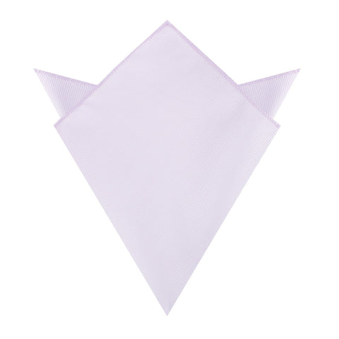 Light Lavender Twill Pocket Square