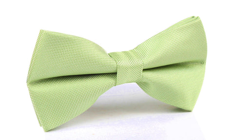 Light Mint Pistachio Green Bow Tie