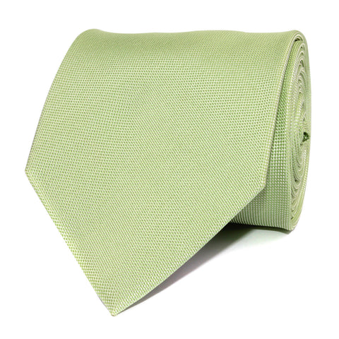 Light Mint Pistachio Green Necktie