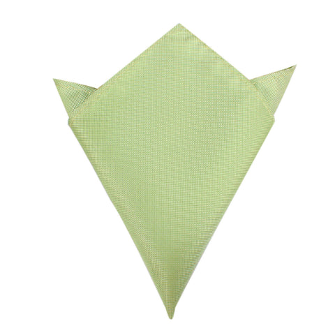 Light Mint Pistachio Green Pocket Square