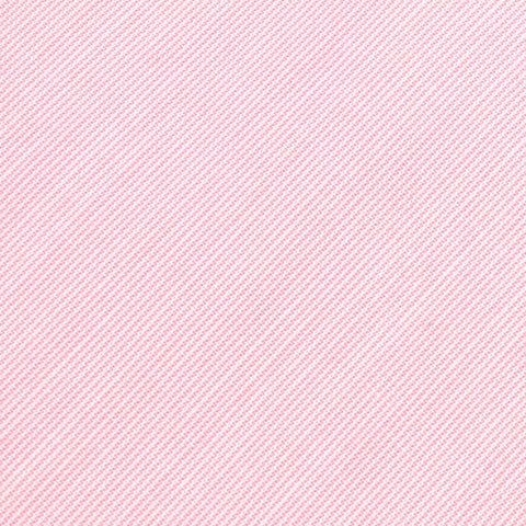 Light Pink Cotton Pinstripes Bow Tie