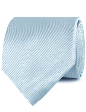 Light Silver Sage Twill Necktie