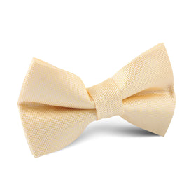 Light Yellow Kids Bow Tie