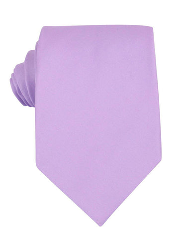 Lilac Purple Cotton Necktie