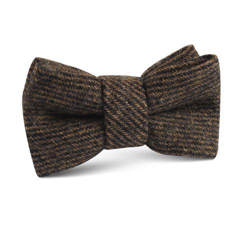 Lincoln Wool Kids Bow Tie