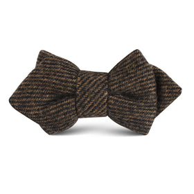 Lincoln Wool Kids Diamond Bow Tie