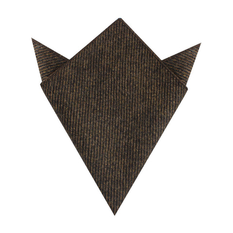 Lincoln Wool Pocket Square