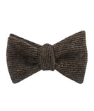 Lincoln Wool Self Tied Bowtie