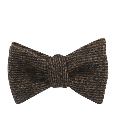 Lincoln Wool Self Bow Tie