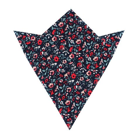 Lisbon Floral Pocket Square