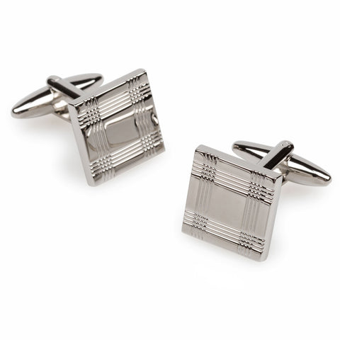 London Eye Silver Cufflinks