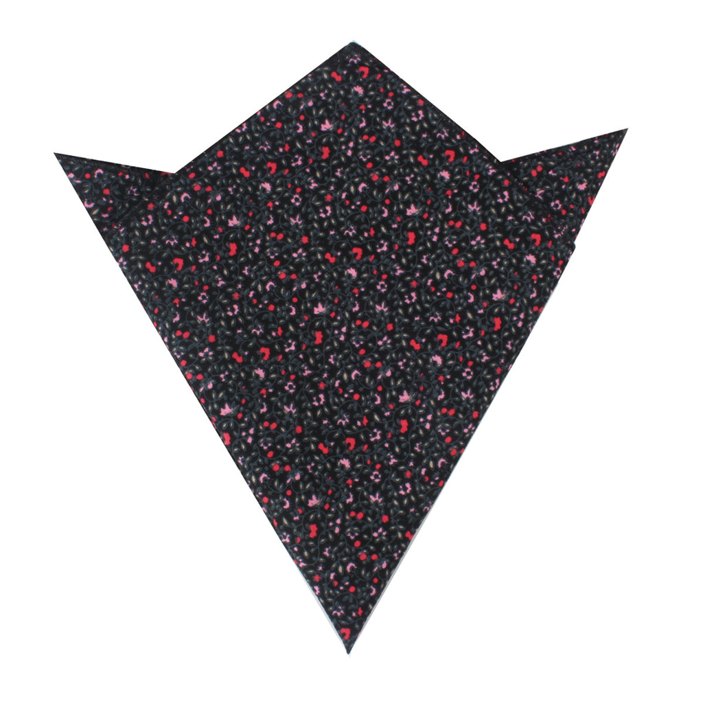 Macau Floral Pocket Square