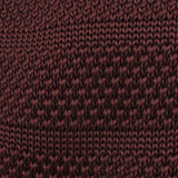 Macchiato Brown Knitted Tie Fabric